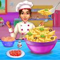 Make pasta cooking kitchen icon