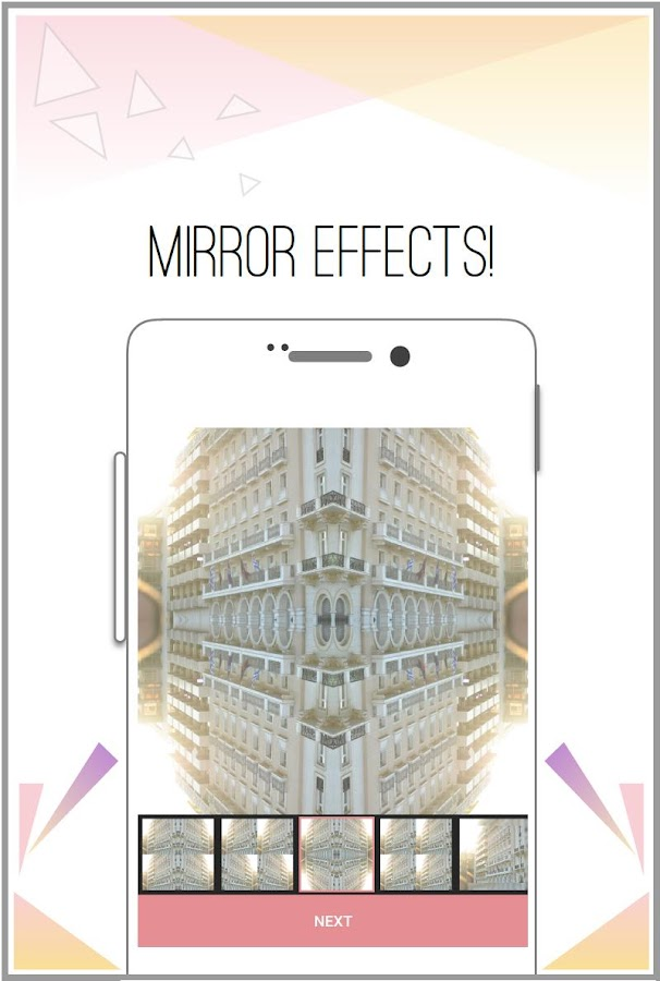 Pic Mirror - fun photo editor- screenshot