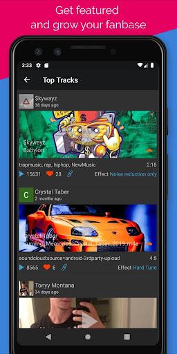 Voloco: Auto Voice Tune + Harmony 6.0.2 Screenshots 5