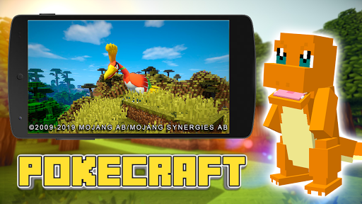 Mod PokeCraft + New Mod and Skins hack tool