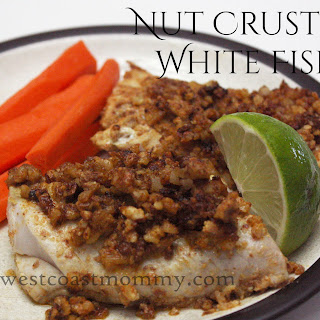 Nut Crusted White Fish.