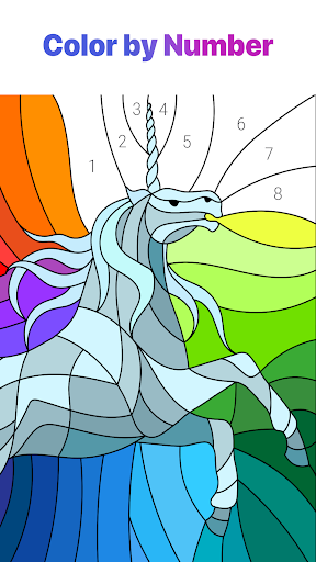 Color by Number u2013 New Coloring Book 2.1.0 Screenshots 1