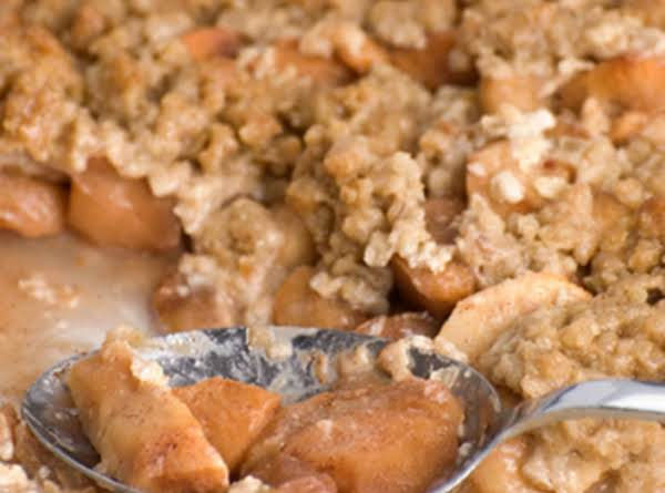 Nutty Apple Crisp
