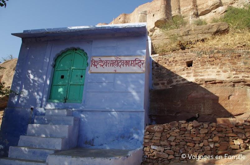 montée fort Jodhpur