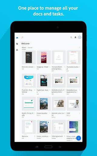 Adobe Acrobat Reader: PDF Viewer, Editor & Creator screenshot 9