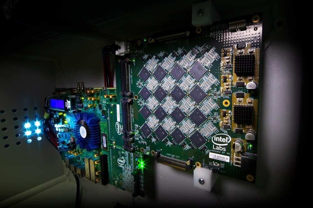 Neuromorphic computing Intel board