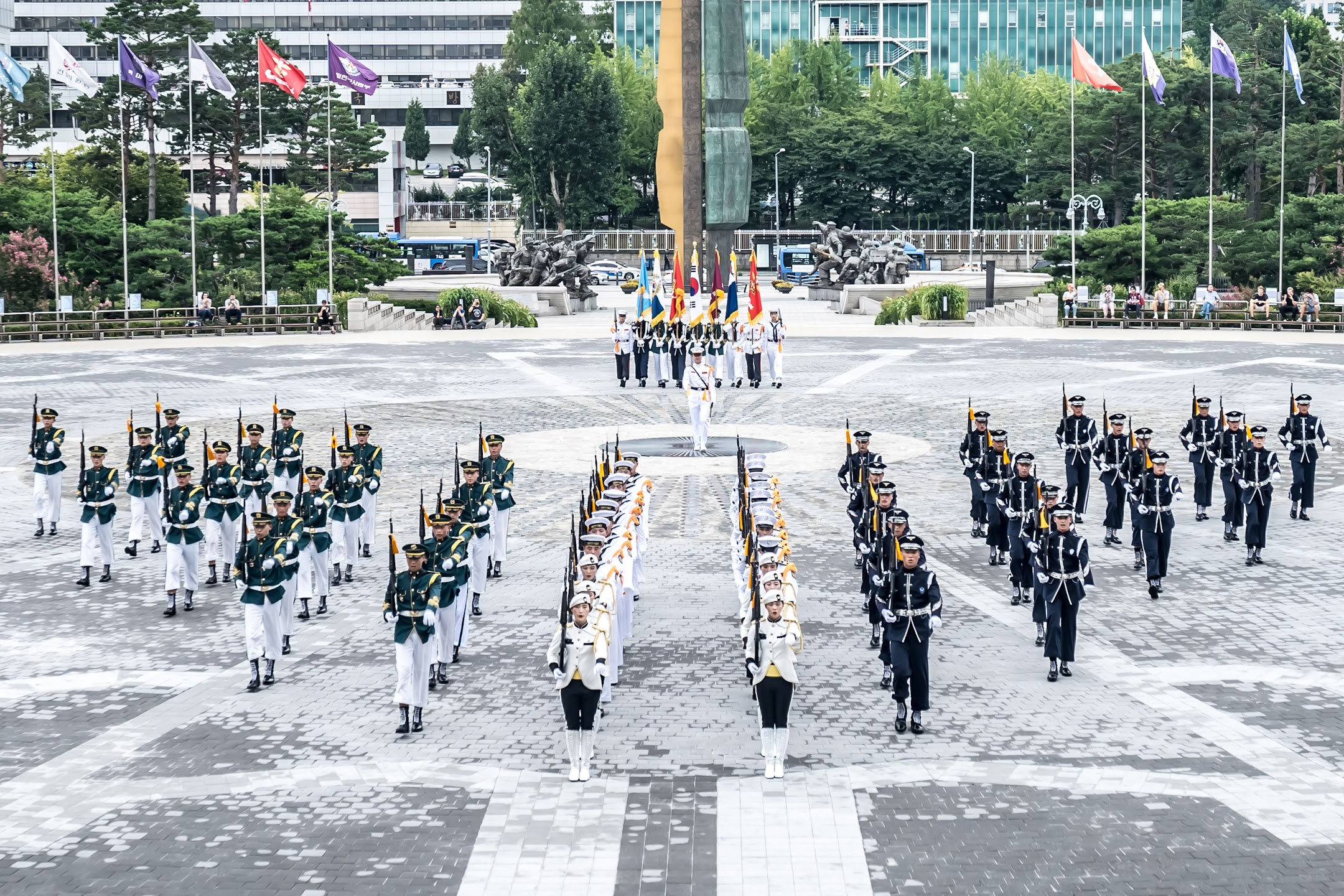Seoul War Memorial of Korea parade2
