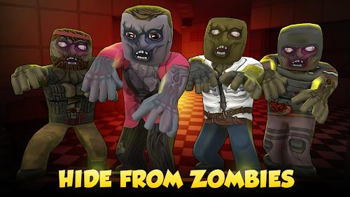 Screenshot 1 Hide from Zombies: ONLINE 0.92 APK+DATA MOD