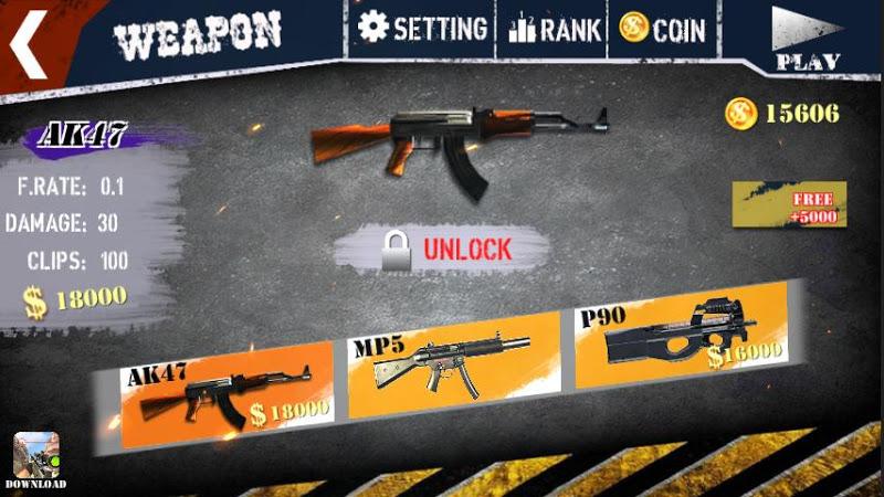 Скриншот Gun Shot FPS