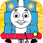 Coloring games thomas adventure