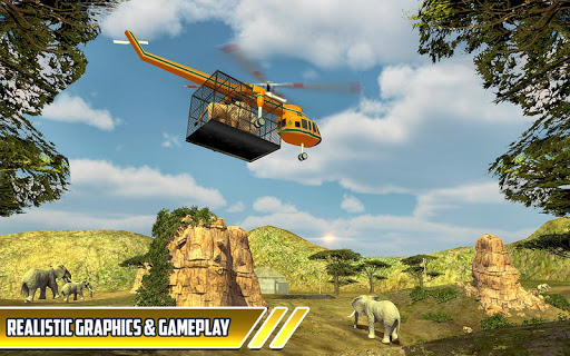 Zoo Animal Transport Truck 3D Airplane Transporter filehippodl screenshot 9