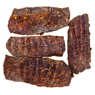 Smoked Hamburger Jerky.