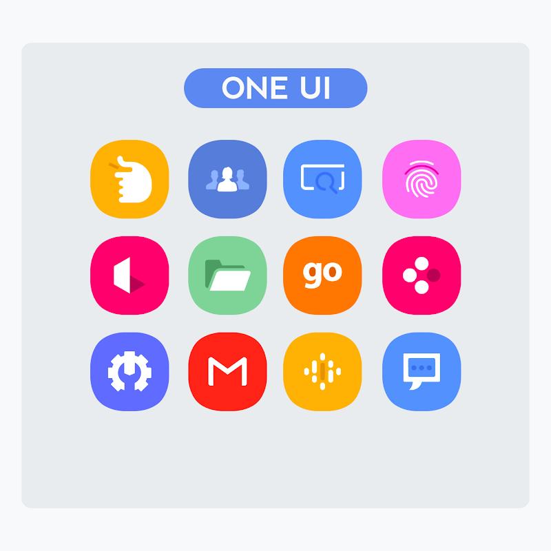 OneUI - Icon Pack : S10 Screenshot 1