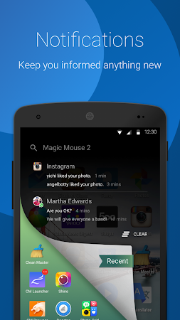 CM Swipe (Launcher & Booster) 1.1.0 screenshot 177954