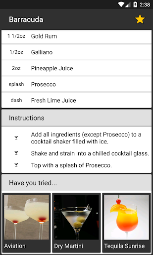 My Cocktails screenshot