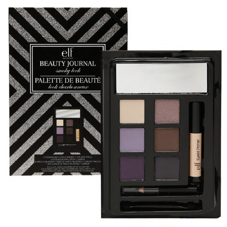 E.L.F. Cosmetics, Beauty Journal, Smoky Look Set, Best Eyeshadow Palette by Supermodels Secrets
