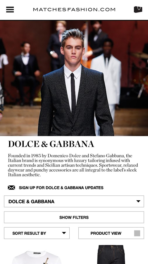 MATCHESFASHION.COM- screenshot