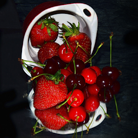 red fruits by LADOCKi Elvira - Food & Drink Fruits & Vegetables (  )