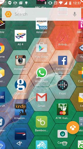 Hexy Launcher screenshots 1