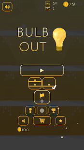 Bulb Out - Ball Jumping Game- screenshot thumbnail