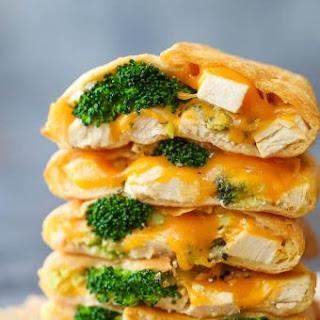 Cheesy Chicken and Broccoli Pockets