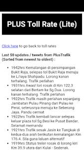 PLUS Highway Status & Rate screenshot 0