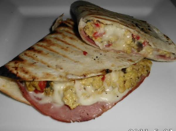 Grilled Breakfast Quesadilla Recipe