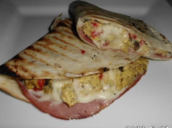 Grilled Breakfast Quesadilla