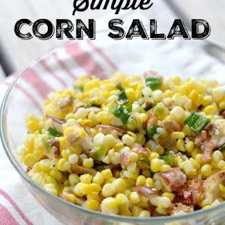 Simple Corn Salad.