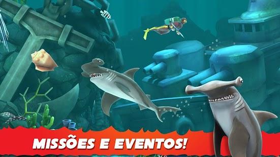 Hungry Shark Evolution APK + MOD DINHEIRO INFINITO para Android imagem 5