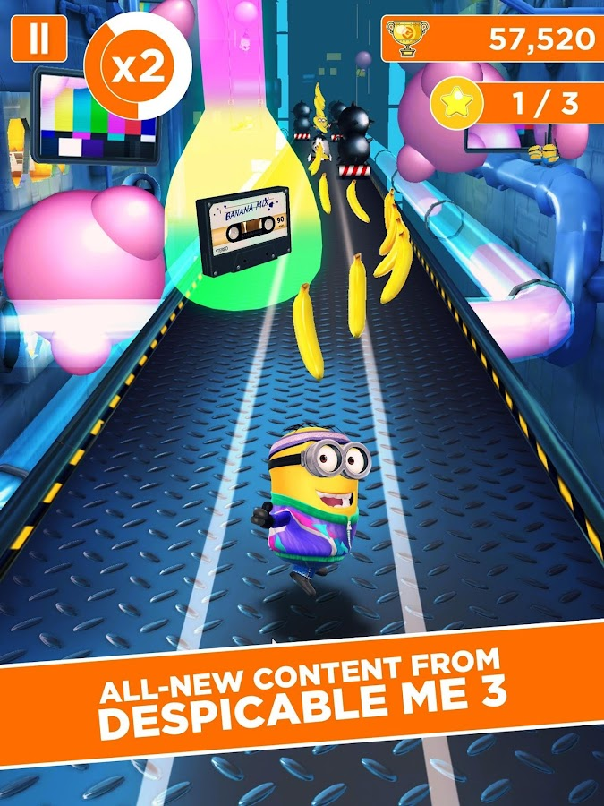 Screenshots of Despicable Me for iPhone