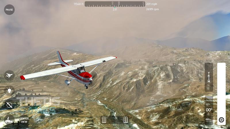 Flight Simulator 2018 FlyWings Free Screenshot 13