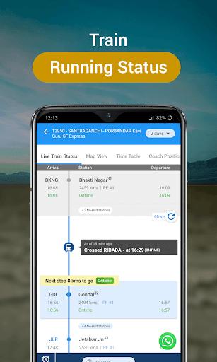 RailYatri - Live Train Status, PNR Status, Tickets screenshot 3