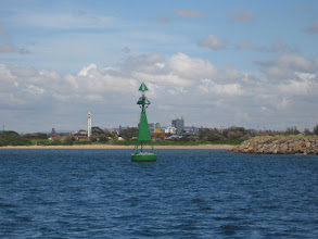 Photo: Starboard channel marker - lady in a lampshade
