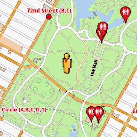 New York Amenities Map (free)