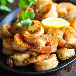 Baked Shrimp with Fresh Citrus Sauce