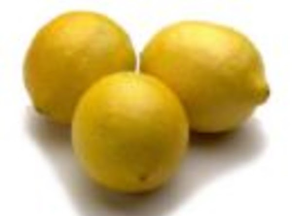 Squeeze in lemon juice from fresh lemons. (Heat lemons in microwave for 30 seconds...