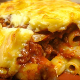 Lamb and Beef Pastitsio
