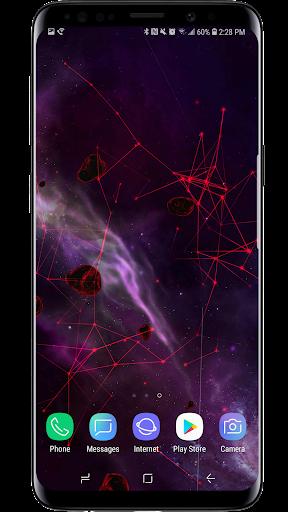 Space Particles 3D Live Wallpaper  screenshots 11