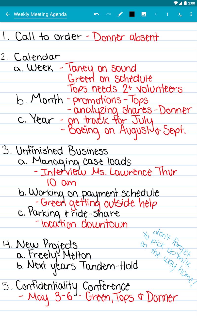 Squid - Take Notes & Markup PDFs Screenshot 10