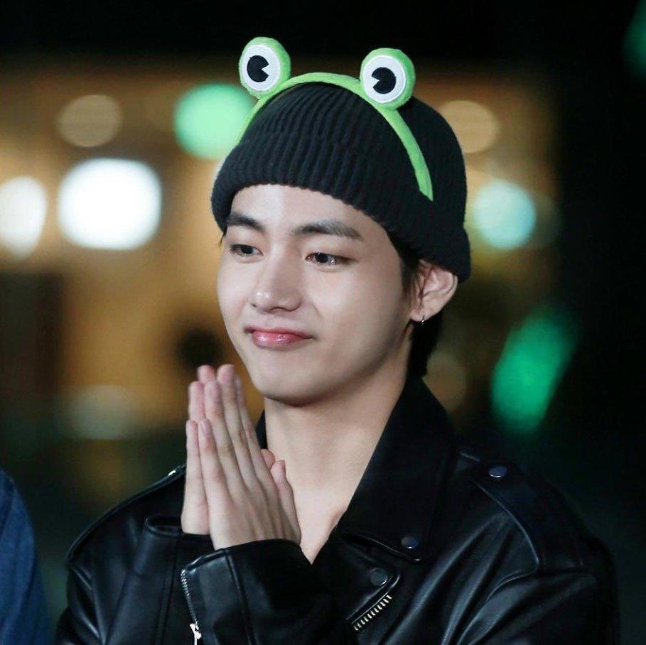 bts v frog