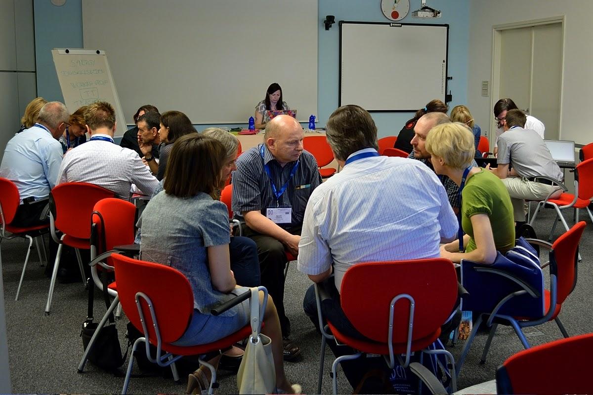 Photo: #eden14 Digiskills European Workshop - really good practices shared! Photo by SRCE