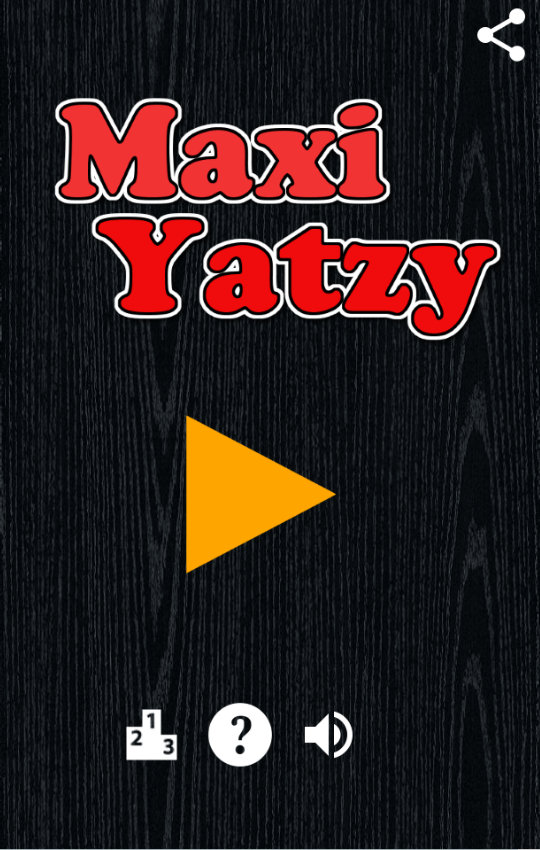 Maxi Yatzy- screenshot