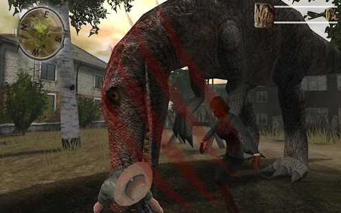 Zombie Fortress Dino Unlocked- screenshot thumbnail