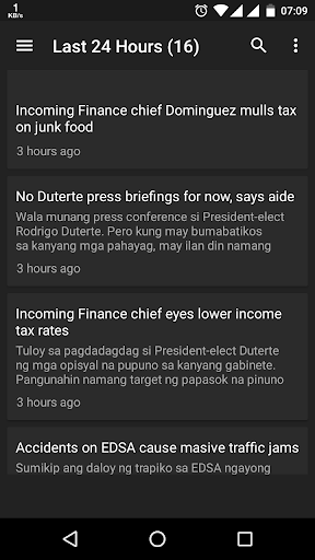 ABS-CBN News 3 screenshots 1