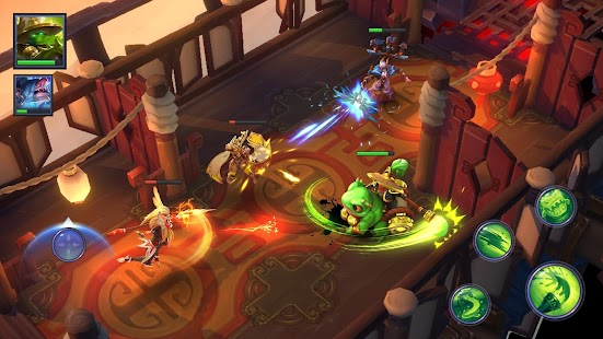 Dungeon Hunter Champions: 5v5 MOBA and RPG Screenshot