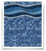 Bali w/ Mosaic Ocean Bottom
