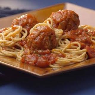 Old-Fashioned Spaghetti & Meatballs.