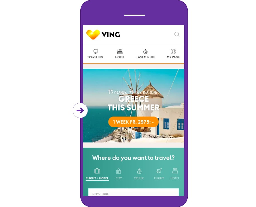 Design with reduced distraction