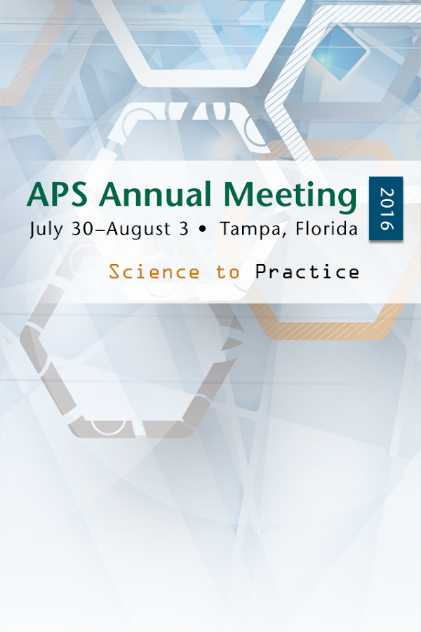 APS Meeting- screenshot